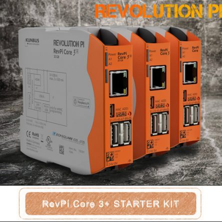 RevPi Core 3+ Starter Kit