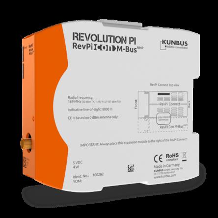 RevPi Gateway Con – M-Bus VHP (Wireless)